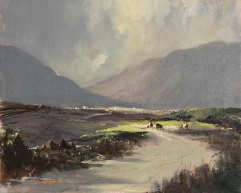 George Gillespie, In The Maam Turks, Connemara at Morgan O'Driscoll Art Auctions