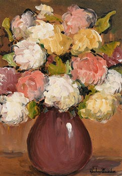 Gladys MacCabe, Still Life - Flowers in a Vase at Morgan O'Driscoll Art Auctions
