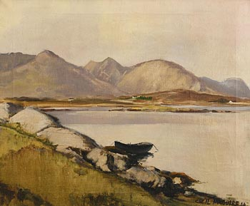 Cecil Maguire, Evening Near Roundstone at Morgan O'Driscoll Art Auctions