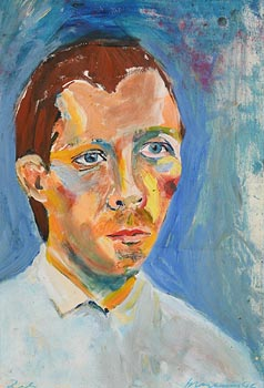 Brian Maguire, Portrait of a Man (1995) at Morgan O'Driscoll Art Auctions