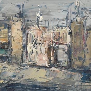 Aidan Bradley, Gated Entrance (2009) at Morgan O'Driscoll Art Auctions