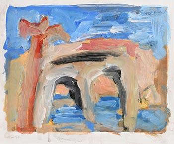 Basil Blackshaw, Tree and Bridge at Morgan O'Driscoll Art Auctions