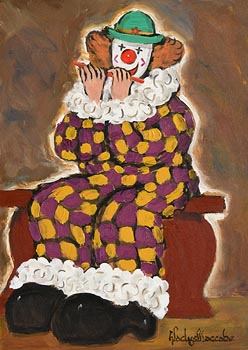 Gladys MacCabe, Musical Clown at Morgan O'Driscoll Art Auctions