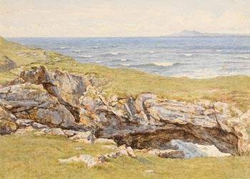Helen Allingham, Coastal Landscape at Morgan O'Driscoll Art Auctions