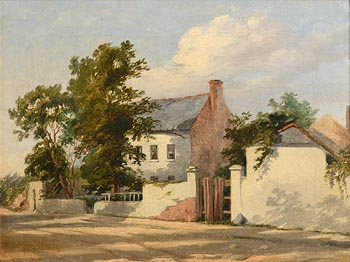 William Howis, The Farmstead (1857) at Morgan O'Driscoll Art Auctions