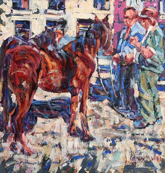 Arthur K. Maderson, Tallow Horse Fair at Morgan O'Driscoll Art Auctions