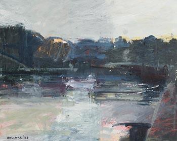 Brian Ballard, River and Trees (1987) at Morgan O'Driscoll Art Auctions