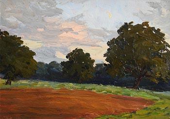 Hans Iten, The Ploughed Field, Belvoir Park at Morgan O'Driscoll Art Auctions