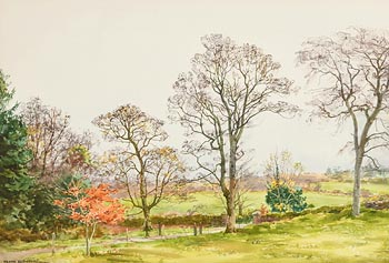 Frank Egginton, Autumn Near Skibbereen, Co. Cork at Morgan O'Driscoll Art Auctions