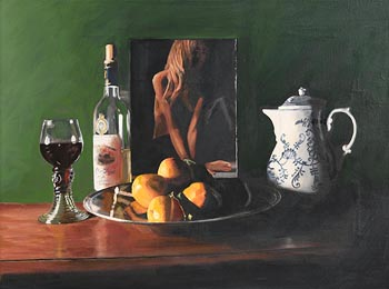 Patrick Marsh, Still Life with Pin Up at Morgan O'Driscoll Art Auctions
