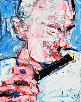 John Brian Vallely, The Flute Player at Morgan O'Driscoll Art Auctions