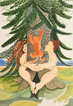 Pauline Bewick, Monkey Puzzle Tree at Morgan O'Driscoll Art Auctions