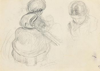 John Butler Yeats, Study of Jack B.Yeats at Morgan O'Driscoll Art Auctions