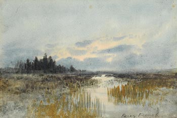 Percy French, Connemara Landscape at Morgan O'Driscoll Art Auctions
