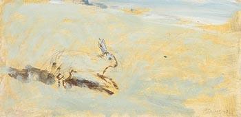 Basil Blackshaw, Hare at Morgan O'Driscoll Art Auctions