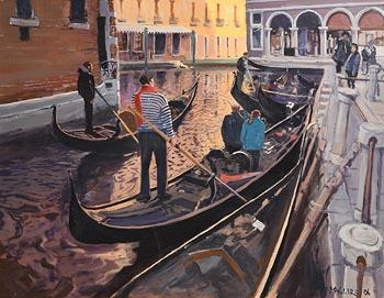 Cecil Maguire, Bacino Orseolo, Venezia at Morgan O'Driscoll Art Auctions