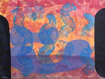Martin Finnin, Abstract Composition at Morgan O'Driscoll Art Auctions