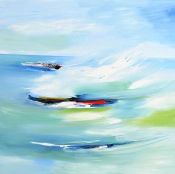 Majella O'Neill Collins, A View to Turk Head from Dock Pier Sherkin (2018) at Morgan O'Driscoll Art Auctions