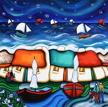 Annie Robinson, Soft the Night at Morgan O'Driscoll Art Auctions