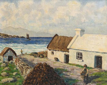 Henry Healy, On Achill Island (1939) at Morgan O'Driscoll Art Auctions