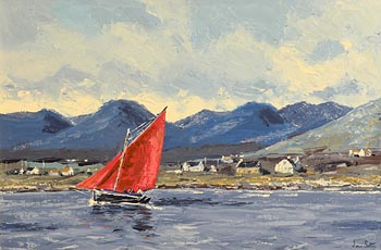 Ivan Sutton, Roundstone Bay, Co. Galway at Morgan O'Driscoll Art Auctions