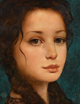 Ken Hamilton, Brown Eyed Girl at Morgan O'Driscoll Art Auctions