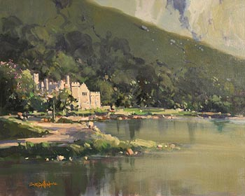 George Gillespie, Kylemore Abbey at Morgan O'Driscoll Art Auctions