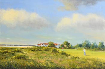 Norman J. McCaig, Portmarnock Golf Course, Co. Dublin (1991) at Morgan O'Driscoll Art Auctions