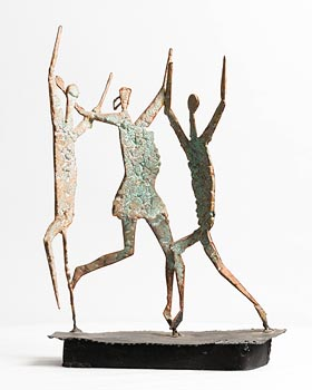 John Behan, Children of the New Millennium at Morgan O'Driscoll Art Auctions