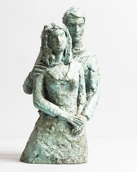 Elizabeth Le Jeune, The Couple at Morgan O'Driscoll Art Auctions