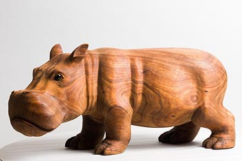 20th Century Asian School, Hippo at Morgan O'Driscoll Art Auctions