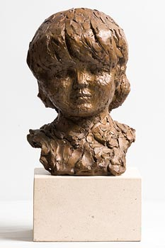 Melanie Le Brocquy, Little Boy Musing (1991) at Morgan O'Driscoll Art Auctions