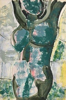 Gerard Dillon, Nude at Morgan O'Driscoll Art Auctions