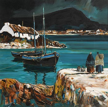 J.P. Rooney, By Emerald Waters, Connemara at Morgan O'Driscoll Art Auctions