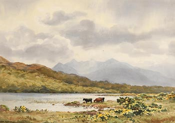 Frank Egginton, View Towards McGillycuddy Reeks at Morgan O'Driscoll Art Auctions