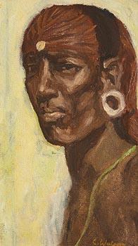 Colin Watson, Lelekong (1992) at Morgan O'Driscoll Art Auctions
