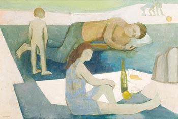 Barbara Warren, A Family at Morgan O'Driscoll Art Auctions