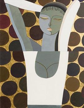 Sergio Manzi, Oro Zecchino at Morgan O'Driscoll Art Auctions