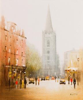 Anthony Robert Klitz, St. Patrick's Cathedral, Dublin at Morgan O'Driscoll Art Auctions