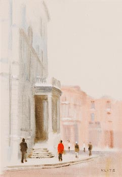 Anthony Robert Klitz, City Hall, Dublin at Morgan O'Driscoll Art Auctions
