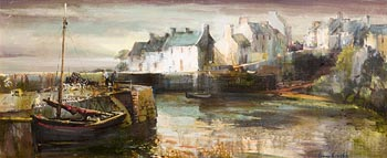 Kenneth Webb, Roundstone Harbour at Morgan O'Driscoll Art Auctions