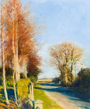 Thomas Ryan, Spring Sunshine at Home (1987) at Morgan O'Driscoll Art Auctions