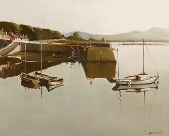 Cecil Maguire, Dawn's Early Light at Roundstone (1985) at Morgan O'Driscoll Art Auctions