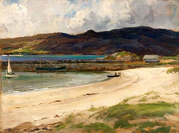 James Humbert Craig, Portnablagh, Co Donegal at Morgan O'Driscoll Art Auctions
