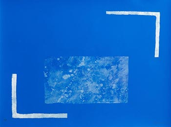 William Scott, Angles Equal, from 'A Poem for Alexander' 1972 at Morgan O'Driscoll Art Auctions