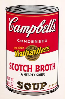 Andy Warhol, Scotch Broth, from Campbell's Soup II, 1969 (F. & S. II.55) at Morgan O'Driscoll Art Auctions