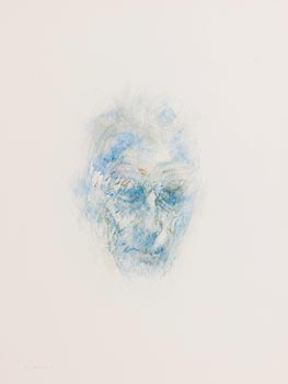 Louis Le Brocquy, Image of Samuel Beckett (1992) at Morgan O'Driscoll Art Auctions