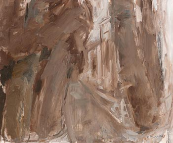 Basil Blackshaw, Trees at Cogry, Co Antrim at Morgan O'Driscoll Art Auctions
