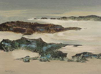 Arthur Armstrong, Grey Landscape at Morgan O'Driscoll Art Auctions