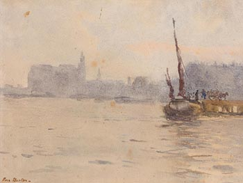 Rose Maynard Barton, On the Thames at Morgan O'Driscoll Art Auctions